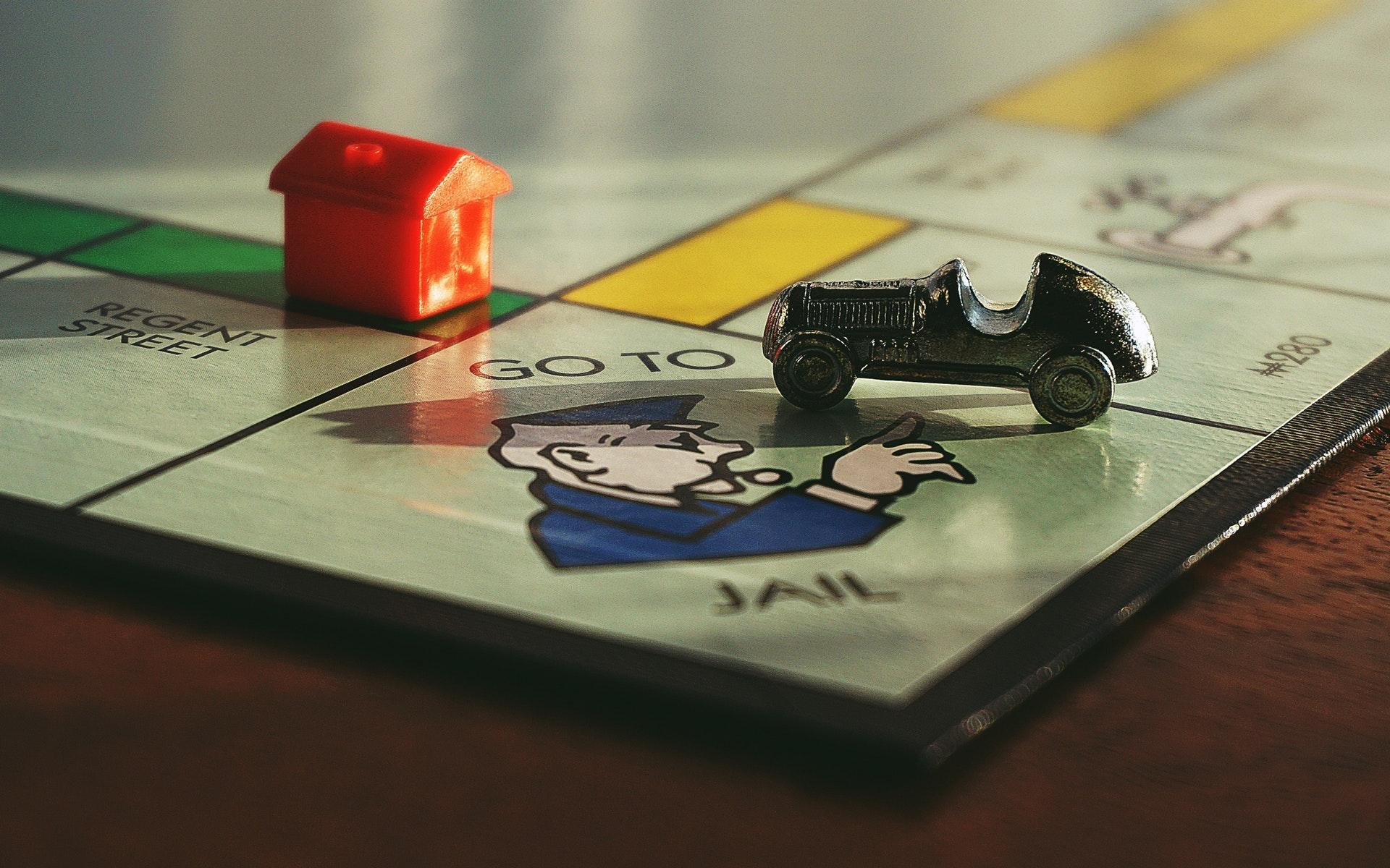 Bild eines Monopoly-Spiels