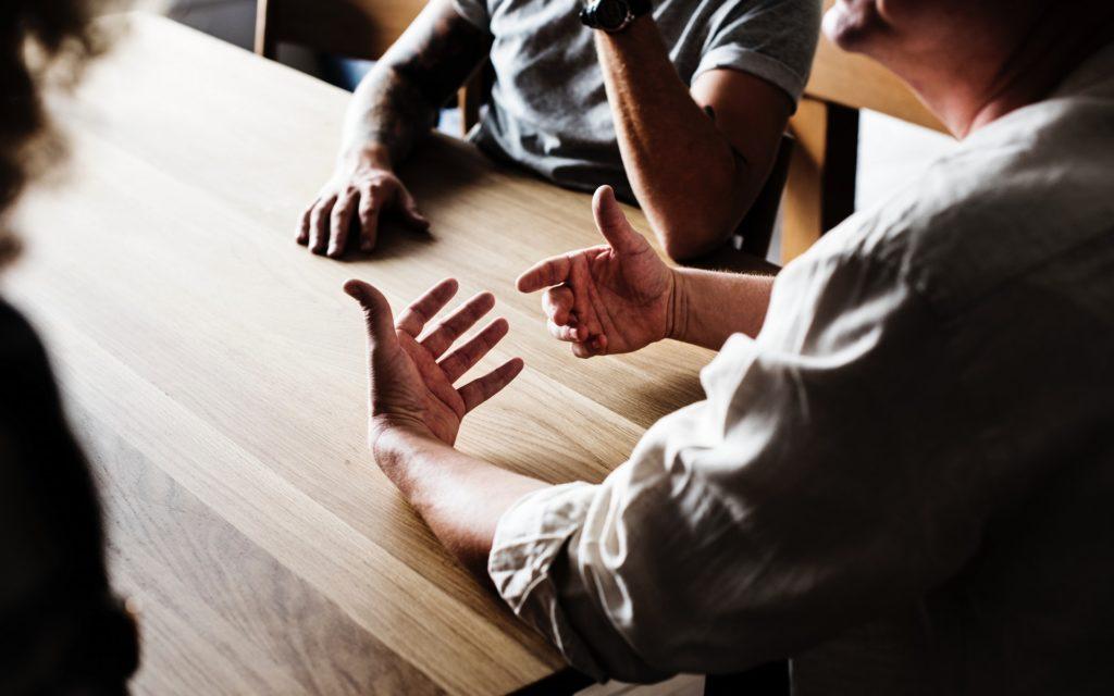 Bild eines Meetings